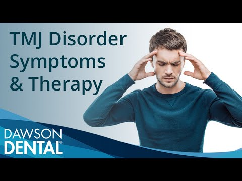 TMJ Disorder Symptoms & Therapy