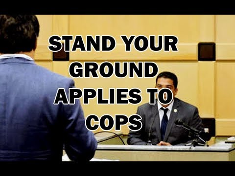 Stand Your Ground Immunity Applies To Cops, Florida Court Says - LEO Round Table episode 337
