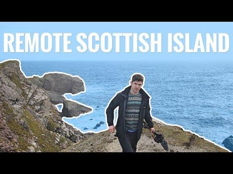 A Night On A Remote Scottish Island