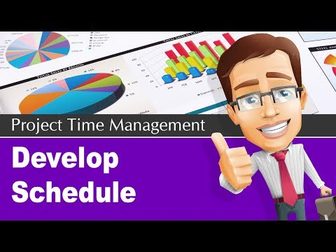 6.5 Develop Project Schedule Process | Project Time Management Knowledge Area | PMP® Training