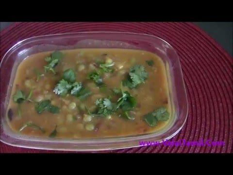 பட்டாணி உருளைக்கிழங்கு குருமா-potato peas kurma - Pattani urulaikizhangu kuruma