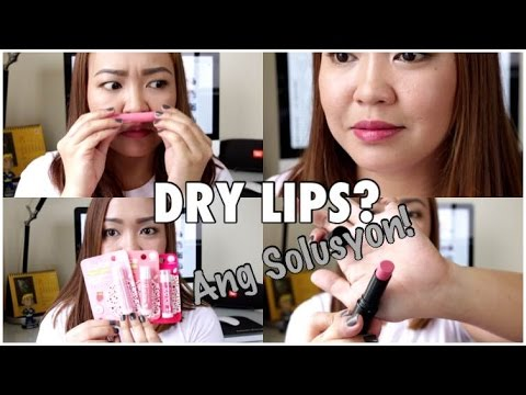 The BEST Lip Balms and my TIPS para sa DRY LIPS!