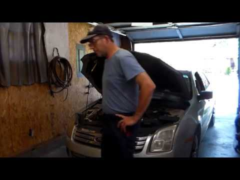 2006-12 Ford Fusion A/C condenser replacement