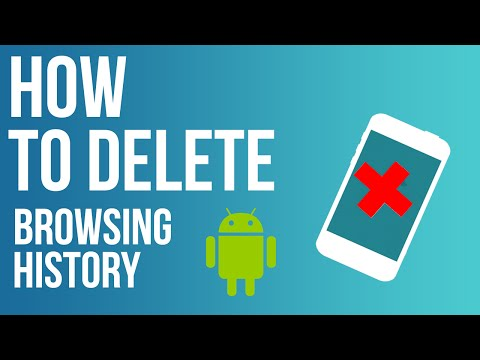 How To Delete Browsing History On ANDROID 2016 | HD [Google Chrome]
