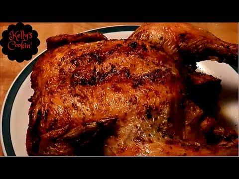 Air Fryer Roasted Chicken... Cooks Essentials 5.3qt Air fryer
