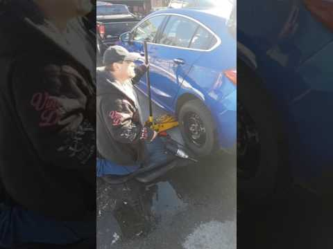 How to change a tire on a 2017 Chevy Cruze