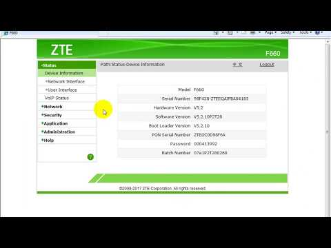 Assign Static IP to a PC through DHCP: ZTE F660