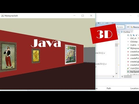Java 3D: How to Create an Art Museum in Blender and Import it (with Source Code)