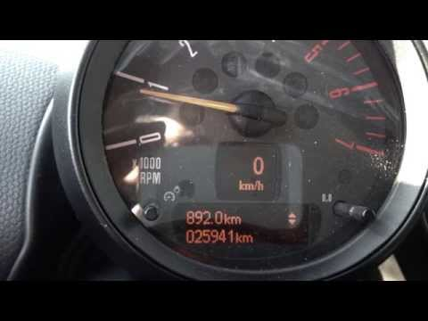 Mini Countryman - Reset Oil Light
