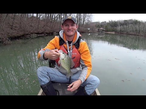Early Spring Crappie Fishing with Gulp Minnows