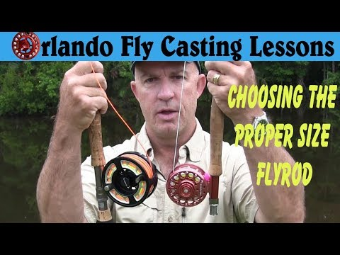 How to Choose a Fly Rod - Understanding fly rod sizes