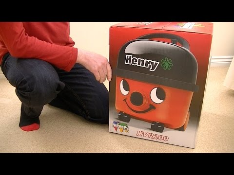 Numatic Henry HVR 200 Vacuum Cleaner Unboxing & First Look