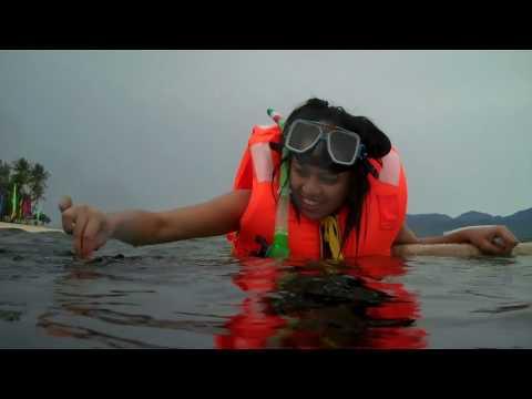 Jhay-Ar & Ayan @ Pandan Island Palawan