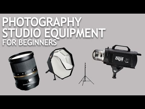 Photography Studio Equipment for Beginners