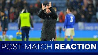 Post Match Reaction Leicester City 1 Southampton 2