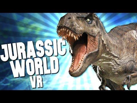 WALKING WITH DINOSAURS! JURASSIC WORLD in VR - ARK PARK