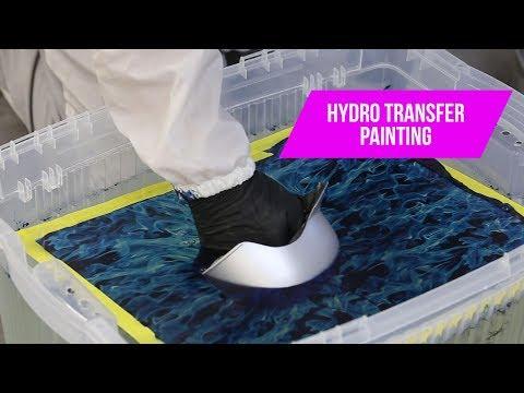 Hydro Transfer Paint Job