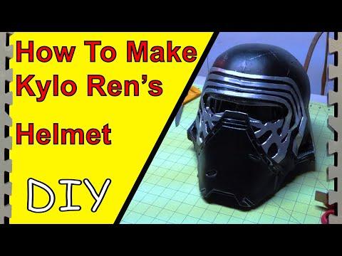 How to Make Kylo Ren's Helmet/Mask (Tutorial)