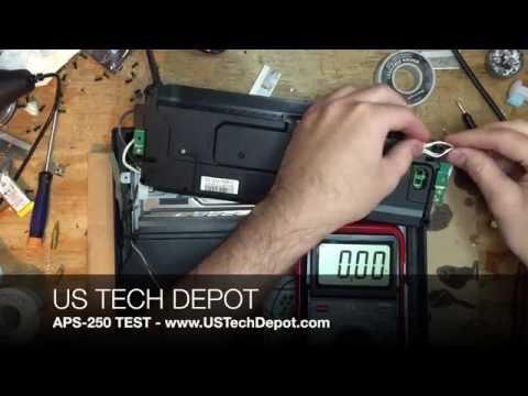 US TECH DEPOT - APS-250 / APS-270 PSU TEST
