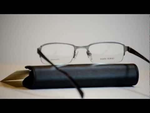 New Authentic Giorgio Armani Titanium Eyeglasses GA 832 OIR GA832 Made In Italy