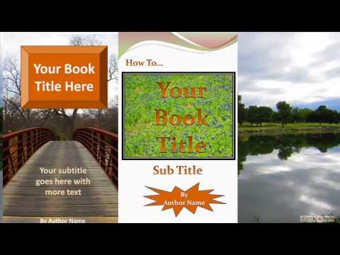 Kindle Book Ebook Cover Software  How To Create And Change Your Own Ebook Covers