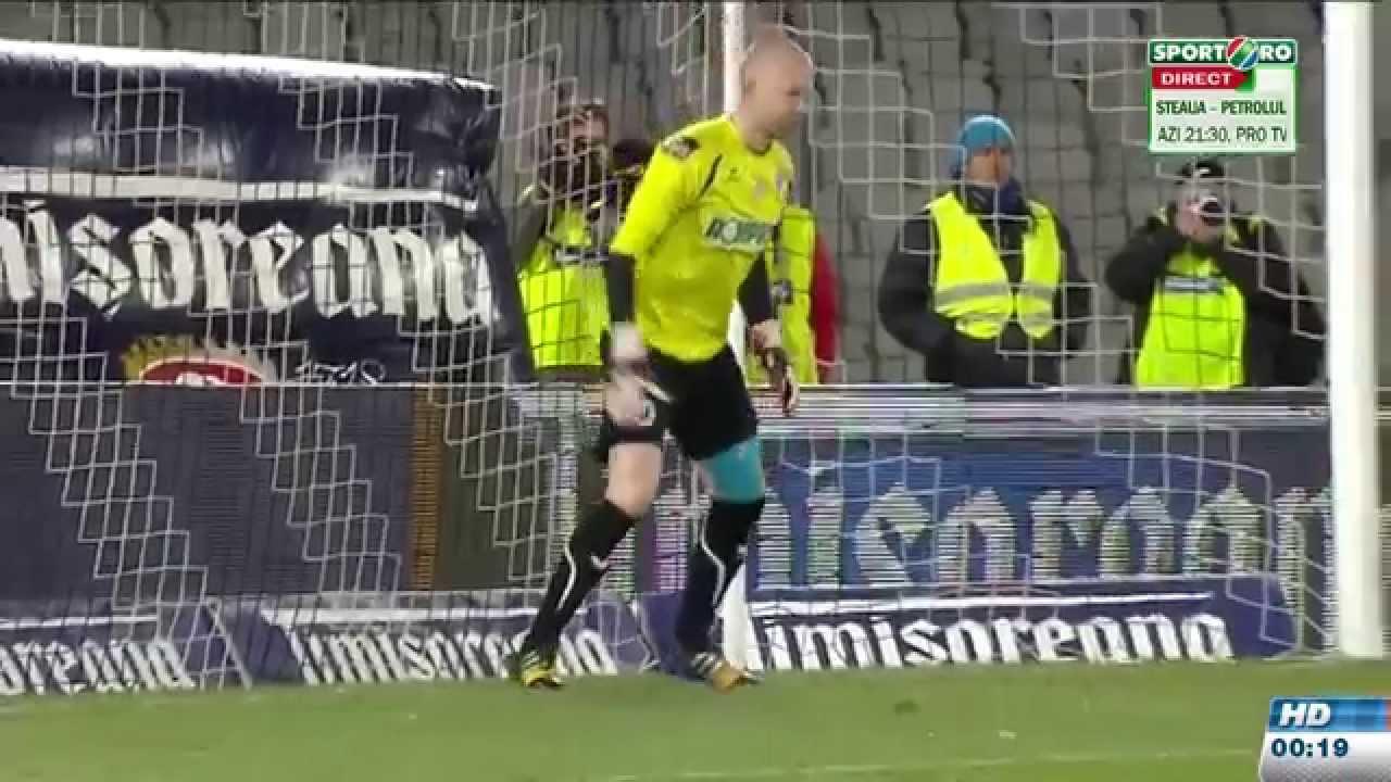 Penalty-uri U. Cluj - Cfr Cluj 4-2 Cupa Romaniei 1.04.2015 HD