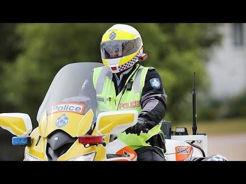Police crackdown on helmet cams