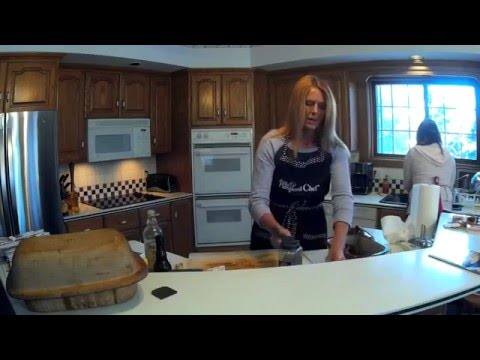 Faiths Family Gone Wild- The Pampered Chef Stoneware Deep Covered Baker