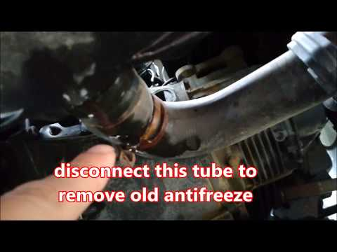 Tutorial how to change ANTIFREEZE Cooling System-Citroen C3 Ford Fiesta and others