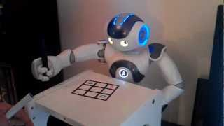 NAO Robot plays Tic Tac Toe with human - Prototype