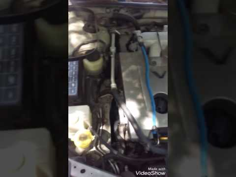 2001 Nissan maxima. How to change the AC/alternator belt without going underneath the car