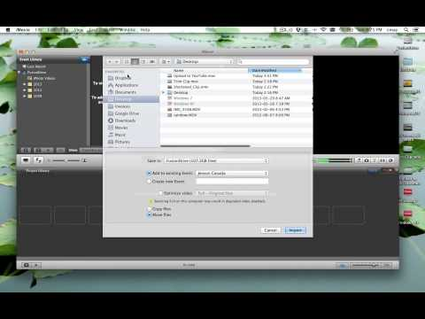 How To Export Video from iPhoto to import into iMovie Manually. - Mac OS X iLife 11