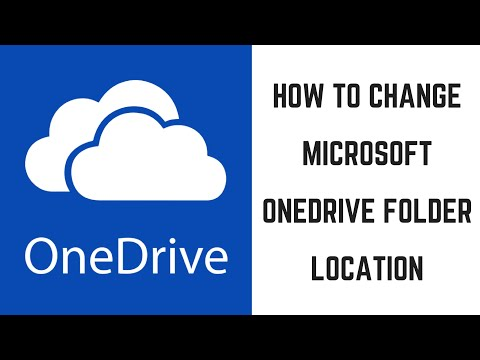 How to Change Microsoft OneDrive Folder Location
