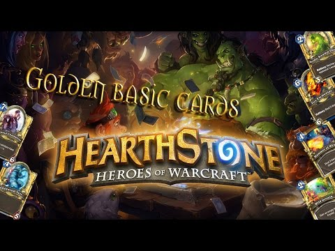 Hearthstone: all golden basic cards