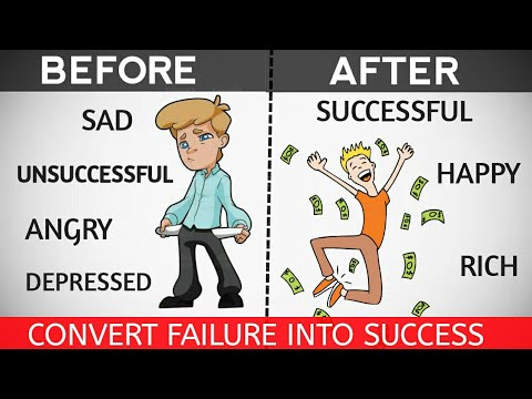 How To  Convert Failure Into Success | Overcome Your Failure | Motivational Video