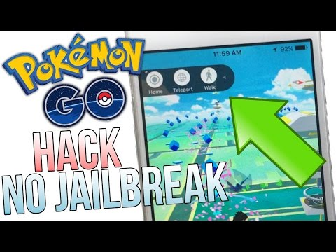 Pokemon GO 1.3.1 Hack NO Jailbreak! Tap To Walk, Map Hack & More! Using Computer.