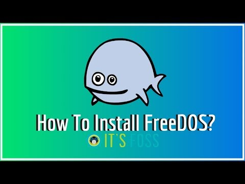 How to Install FreeDOS in Linux using Virtual Box