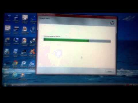 Setup HP Deskjet 3050 j610 series wireless
