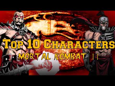 Top 10 Characters That HAVE to be in MORTAL KOMBAT 11