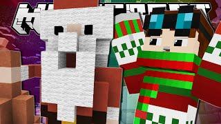 Minecraft | CHUBBY SANTA!! | Build Battle Minigame