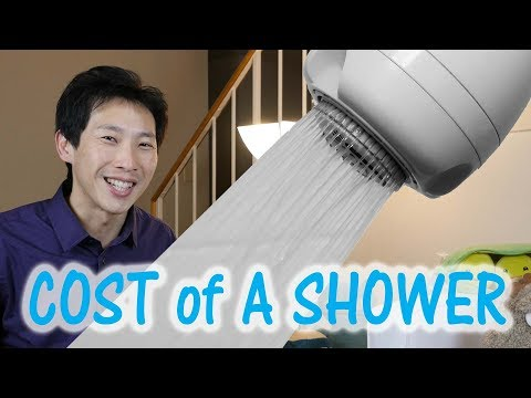 How Much Does It Cost to Shower