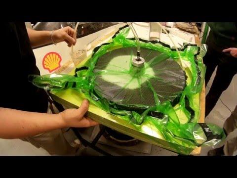 Making of carbon fiber rim