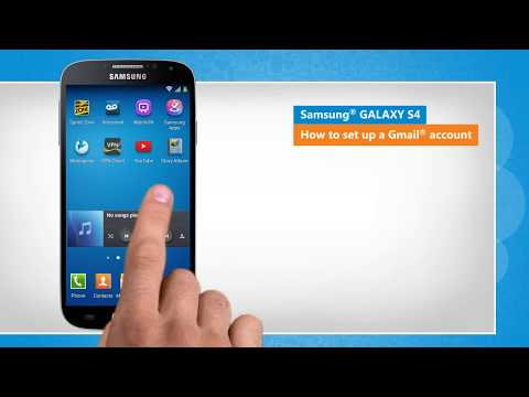 How to Set Up a Gmail® Account on Samsung® GALAXY S4