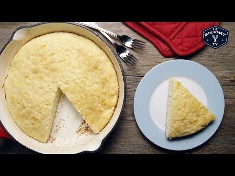 Buttermilk Skillet Cake || Le Gourmet TV Recipes