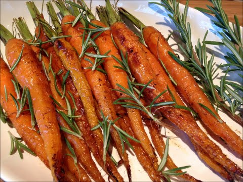 How To Make Rosemary Roasted Carrots - Rise Wine & Dine - Episode 156
