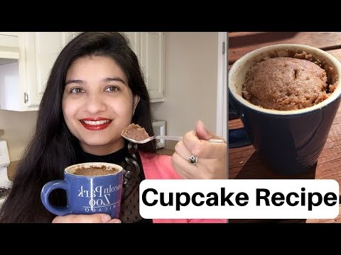 Easy Mug cake recipe at home in Hindi | Egg less cake | Valentine special cup cake | AVNI