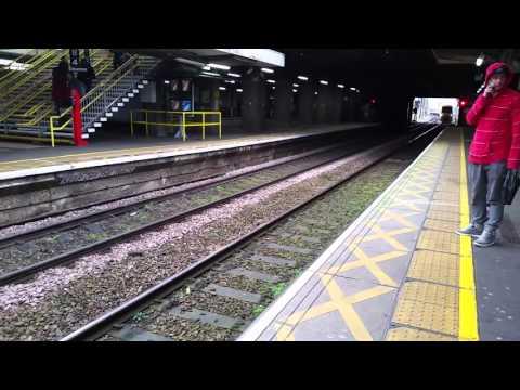 C2C train at barking station 13th February 2016