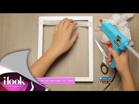DIY Earrings Holder Frame