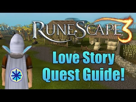 Runescape 3: Love Story Quest Guide!