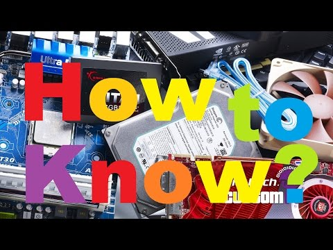 Motherboard Specs? How to know what yours is?
